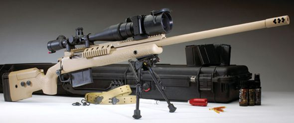 The Surgeon XL .338 Lapua Mag