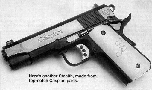 Stealth .45 ACP - Terry Tussey's Comp 1911: Caspian Parts