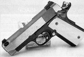 Stealth .45 ACP - Terry Tussey's Comp 1911: Lighter Bullets