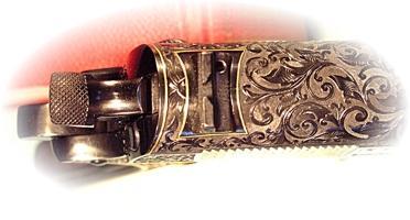 Pistol Top Engraving