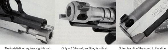 Stealth  45 ACP - Terry Tussey's Comp 1911 - Tussey Custom Guns